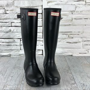 Hunter Original Tall Rain Boot Blk Waterproof 385